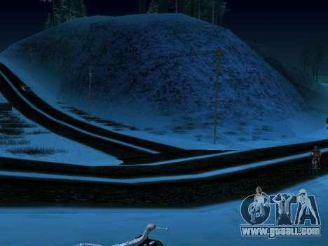 Winter v1 for GTA San Andreas third screenshot