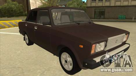 Lada Riva for GTA San Andreas left view