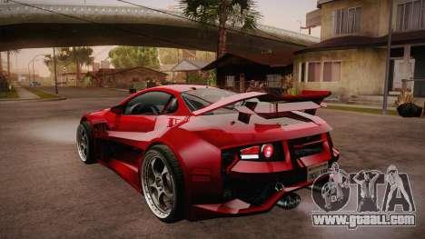 CYBORX CD 10.1s XL-SE Custom for GTA San Andreas back left view