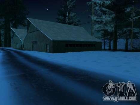 Winter v1 for GTA San Andreas forth screenshot