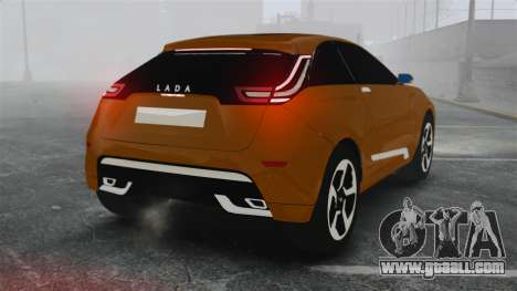 Lada XRay Concept for GTA 4 back left view