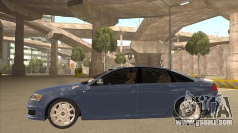 2010 Audi A6 4.2 Quattro for GTA San Andreas back left view