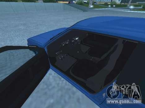 VAZ 2113 for GTA San Andreas inner view