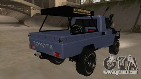 Toyota Machito Pick Up 2009 for GTA San Andreas right view