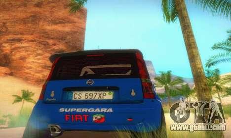 Fiat Panda Rally for GTA San Andreas inner view