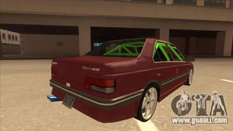 Peugeot 405 ami16 X4 for GTA San Andreas right view
