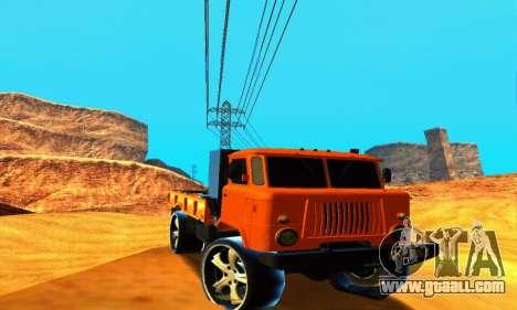 GAZ 66 Caucasus for GTA San Andreas