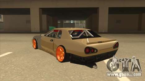 Elegy K22 King Swap for GTA San Andreas back view