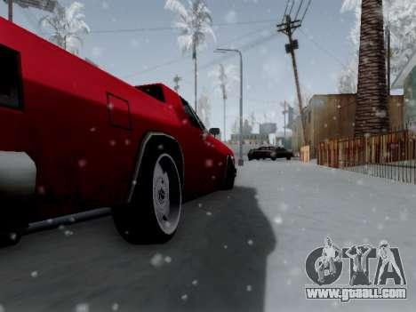 Picador V8 Picadas for GTA San Andreas back view