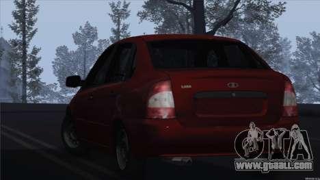 VAZ 1118 Kalina for GTA San Andreas left view