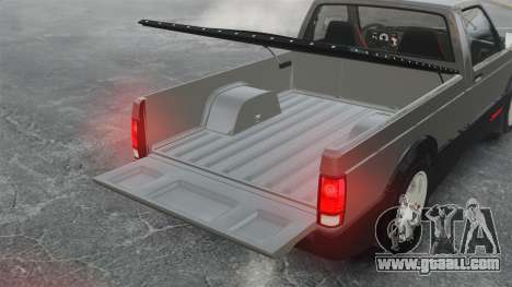 GMC Syclone 1992 for GTA 4 inner view
