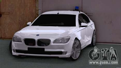 BMW 750i FSB for GTA San Andreas left view