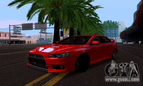 Mitsubishi Lancer Evo Drift Edition for GTA San Andreas