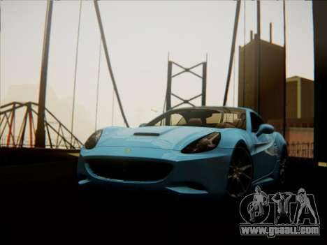 Ferrari California 2009 for GTA San Andreas right view