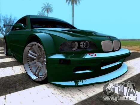 BMW M3 E46 GTR for GTA San Andreas