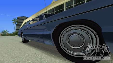 Mercury Monterey 1972 for GTA Vice City side view