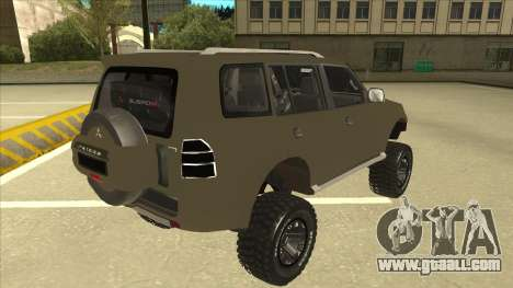 Mitsubishi Montero EDVARD [ERICK] for GTA San Andreas right view