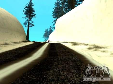 Winter v1 for GTA San Andreas