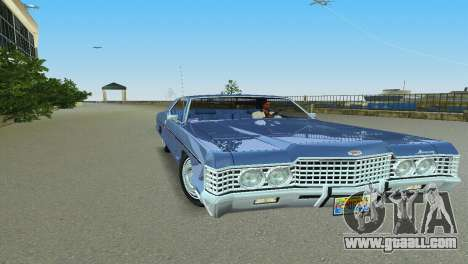 Mercury Monterey 1972 for GTA Vice City