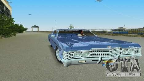 Mercury Monterey 1972 for GTA Vice City