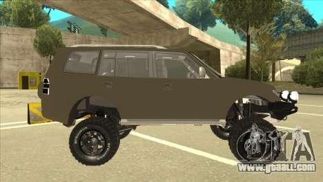 Mitsubishi Montero EDVARD [ERICK] for GTA San Andreas back left view