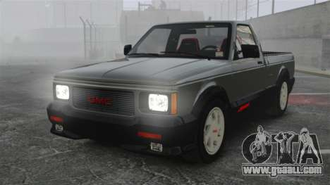 GMC Syclone 1992 for GTA 4