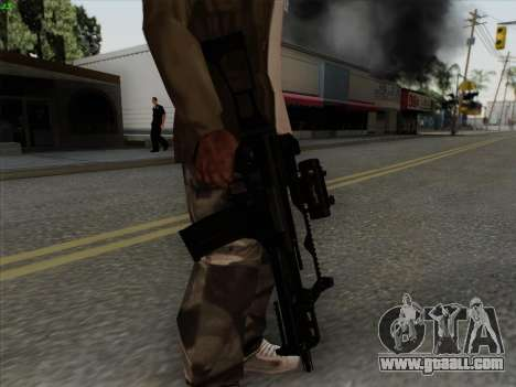 HK-G36C for GTA San Andreas forth screenshot