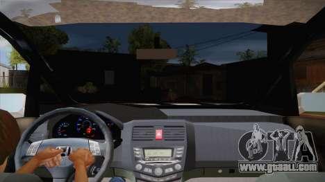 Honda Odyssey v1.5 for GTA San Andreas inner view