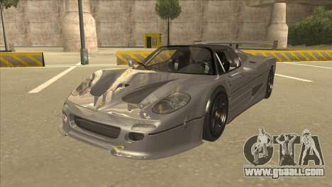 Ferrari F50 GT TT Black Revel for GTA San Andreas