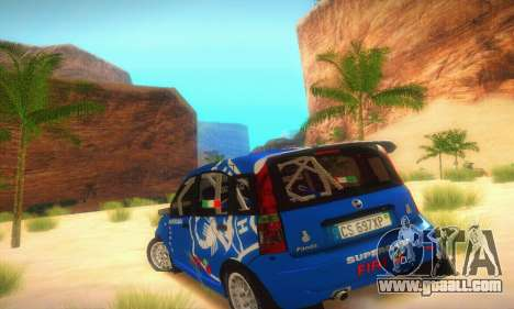 Fiat Panda Rally for GTA San Andreas right view