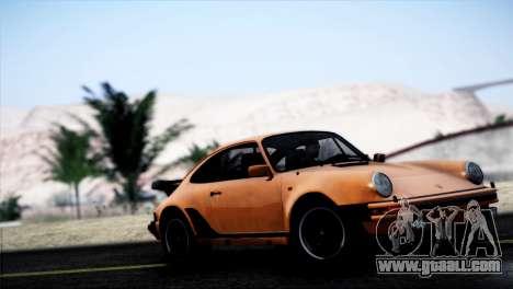 Porsche 911 Turbo 3.3 Coupe 1982 for GTA San Andreas left view