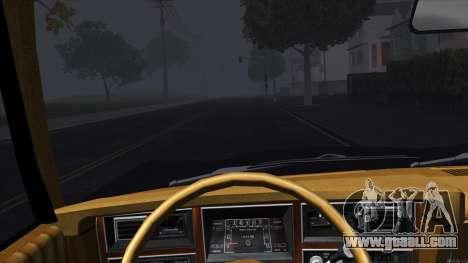 Ford Aspen 1979 for GTA San Andreas inner view