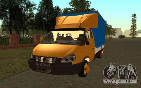 33022 Gazelle Business for GTA San Andreas