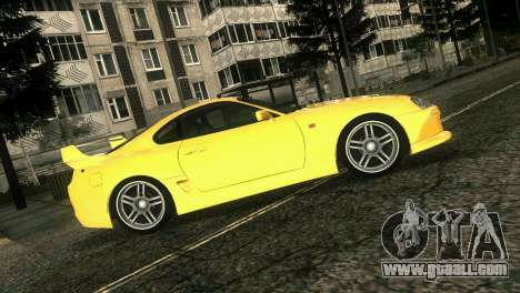 Toyota Supra TRD for GTA Vice City back view