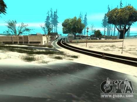 Winter v1 for GTA San Andreas eleventh screenshot