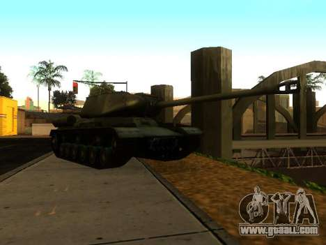 The is-2 for GTA San Andreas back left view