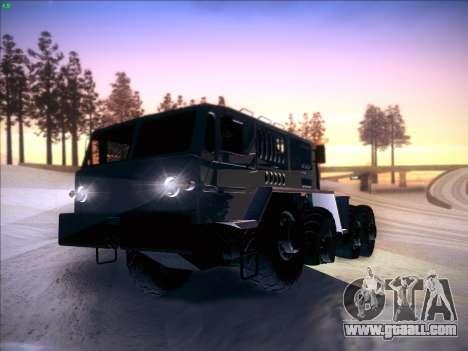 MAZ 537 for GTA San Andreas