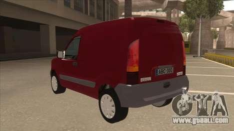 RENAULT KANGOO v1 for GTA San Andreas back view