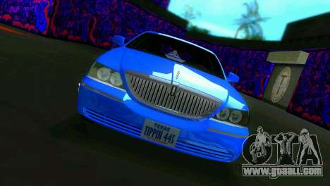 Lincoln Town Car Tuning for GTA Vice City left view