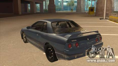 Nissan Skyline GT-S32 Drifter Edition for GTA San Andreas back view