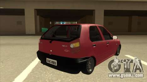 1997 Fiat Palio EDX Edit for GTA San Andreas right view