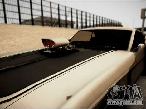 Ford Mustang Boss 302 1969 for GTA San Andreas back view