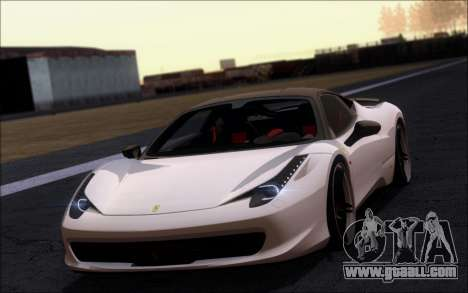 Ferrari 458 Italia Novitec Ross for GTA San Andreas