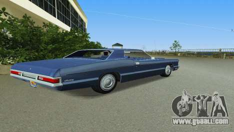 Mercury Monterey 1972 for GTA Vice City right view