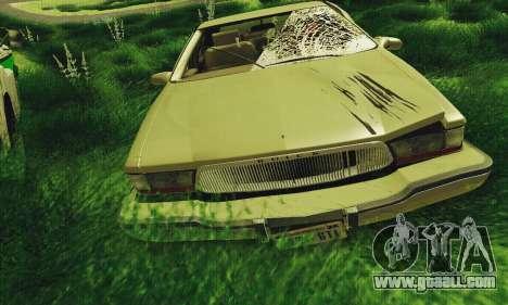 Buick Roadmaster Broken for GTA San Andreas left view
