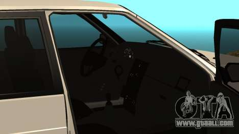 Ваз 2114 for GTA San Andreas inner view