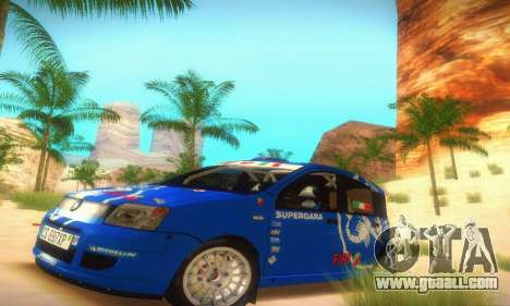 Fiat Panda Rally for GTA San Andreas left view