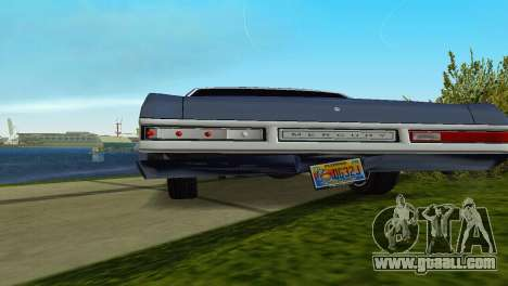 Mercury Monterey 1972 for GTA Vice City upper view