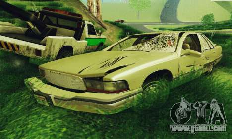 Buick Roadmaster Broken for GTA San Andreas