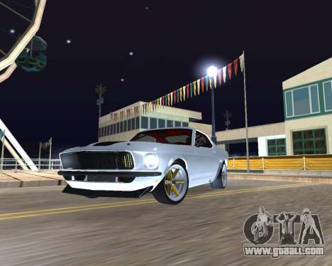 Ford Mustang Anvil for GTA San Andreas left view